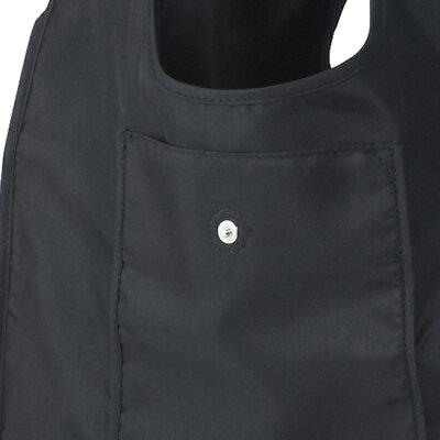 ショッピングバッグ (ブラック/ナチュラル) エコバッグ 折りたたみ 軽量 コンパクト レジ袋 マイバッグ トートバッグ 買い物バッグ シンプル ギフト 新生活・・・ 画像2