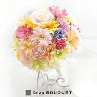 結婚式ウェディングブーケ造花
