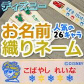 お名前織りネーム-ディズニー【メール便可】【ディアカーズ】【アナと雪の女王】