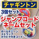 お名前ジャンプコードネームセット-チャギントン【メール便可】【ディアカーズ】