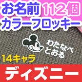 お名前カラーフロッキー-ディズニー【メール便可】【ディアカーズ】【Disneyzone】【アナと雪の女王】