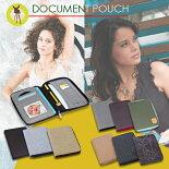 ドイツブランド・レッシグの母子手帳ケース『ドキュメントポーチ』は母子手帳だけでなく、保険証・診察券・お薬手帳・通帳などたっぷり入る収納力!軽くて大きなサイズの母子手帳ケースです。