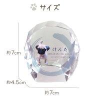 【ペット仏具】【ペット位牌】セレクトクリスタルミニペットメモリアルペット供養犬猫ガラスかわいいきれいミニ犬の位牌猫の位牌お供え丸ラウンドガラス
