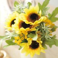 ペット仏具アーティフィシャルひまわり※プリザではありません仏花向日葵お花