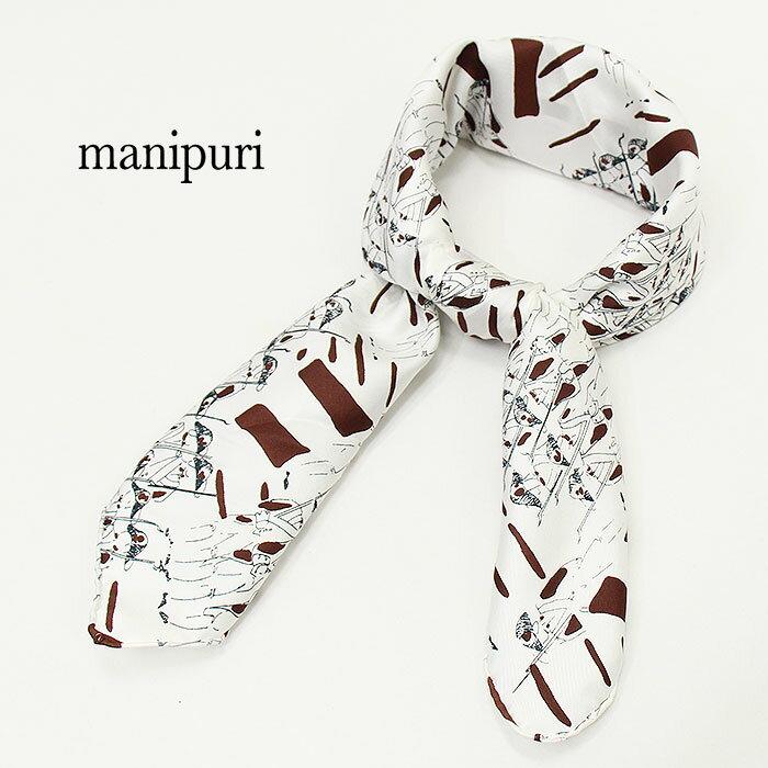 manipuri(マニプリ)『シルクバンダナスカーフ』