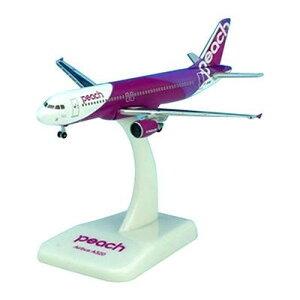 【代引き・同梱不可】CROSSWING/クロスウイング A320-200 ピーチ・アビエーション JA801P 1/500スケール