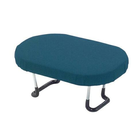 【代引き・同梱不可】住友産業 らくらく正座椅子 (ワンタッチ式) 青無地 D-8