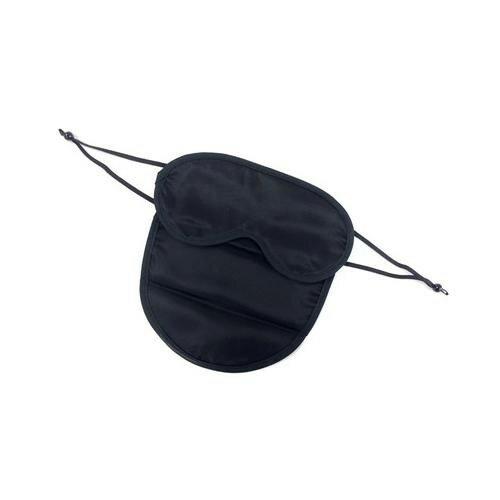 【代引き・同梱不可】フェイスアイマスク ブラック TEM002-00