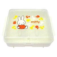 【代引き・同梱不可】miffyミッフィー 哺乳瓶消毒ケース BS-036出産準備 コンパクト 電子レンジ