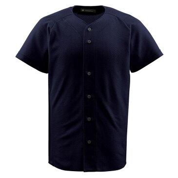 デサント(DESCENTE) フルオープンシャツ (野球) DB1010 ブラック M【日時指定不可】