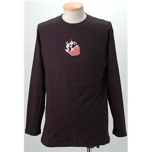 語れる立体和柄ロングTシャツ S-1542/鶴亀鯛 LL(NP)【日時指定不可】