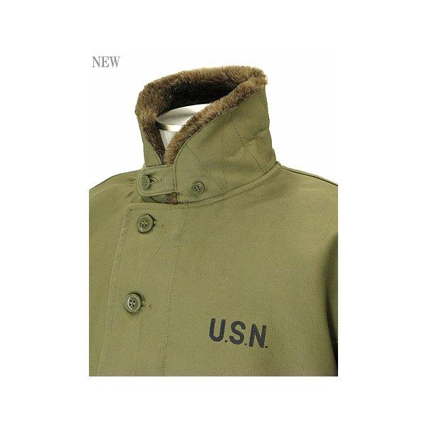 アメリカ軍 N-1 デッキジャケット  JJ105YN ネイビー