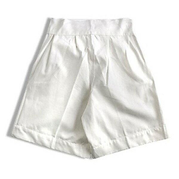 イタリア軍放グルガショーツパンツ未使用デットストック ホワイト 6(76cm)