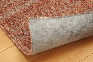 ラグマットカーペット3畳抗菌防臭防ダニタフト国産ミックスカラー『イリゼ』グリーン約190×240cm