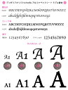 アルファベット [w 特大サイズ] 小文字 筆記体デコシート(Hotfix) #2038 クリスタル/イニシャル/スワロフスキー/スワロ/ラインストーン 2