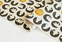 生地・布≪ シロクマ - charcoal ≫コットン/幅110cm【10cm単位販売】【メー…