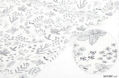 生地・布≪ NATURE-leaf ≫コットン/幅148cmデコレクションズオリジナル生地・布…
