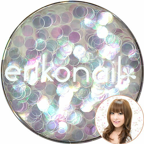 黒崎 에리코 쥬얼리 컬렉션 (ERI-105) 펄 화이트 라운드 2mm erikonail (여 리고 그림)