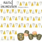 サンドアイソセリーズ ゴールド シルバー 二等辺三角形 ネイルパーツ ジェルネイル