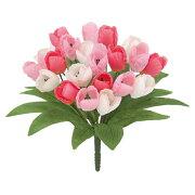 【春・造花】オランダチューリップブッシュ