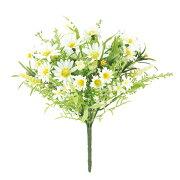 プレミアムデイジーブッシュ(ホワイトミックス)【春の造花・アートフラワー】