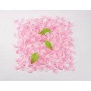 桜吹雪(約600枚パック)(ピンク)【桜の造花・アートフラワー】