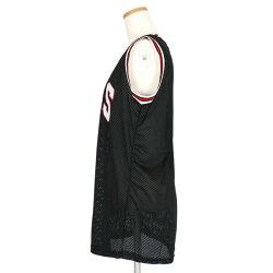 バスケットボールユニフォーム風のナンバーロゴプリントメッシュタンクトップ原宿系ファッションレディースゆめかわいい服奇抜派手個性的ダンス衣装コスチュームヒップホップ韓国大きいサイズ170628