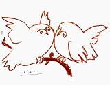 【送料無料・額付き】ないしょ話(ピカソ版画) 【楽ギフ_包装】【楽ギフ_のし宛書】