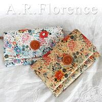 イタリア・A.F.Florence(A.F.フローレンス)/ フラワー 長財布