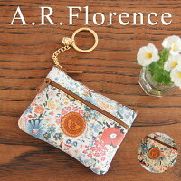 イタリア・A.F.Florence(A.F.フローレンス)/ フラワー コインキーケース