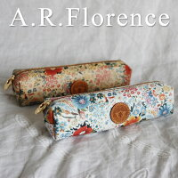 イタリア・A.F.Florence(A.F.フローレンス)/ フラワー ペンケース