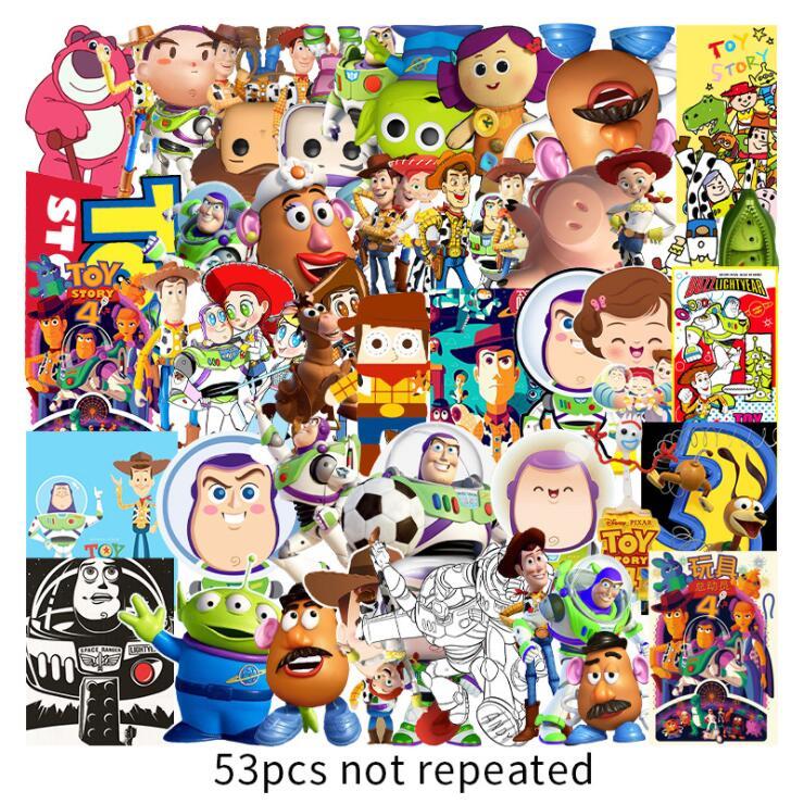 壁紙・装飾フィルム, ウォールステッカー・シール  Toy Story wallsticker 5.58.5cm53 G372