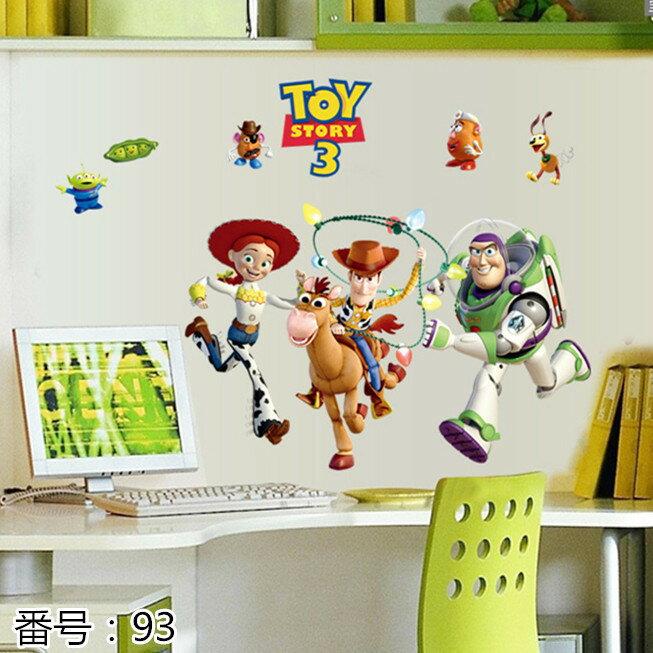 壁紙・装飾フィルム, ウォールステッカー・シール Disney Toy Story3 3 6090cm 93