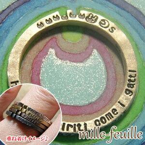 指輪 リング レディース 猫 ネコ ねこ ウサギ うさぎ 兎 シルバー 刻印 ハンドメイド アクセサリー mille-feuille gattara gattaro