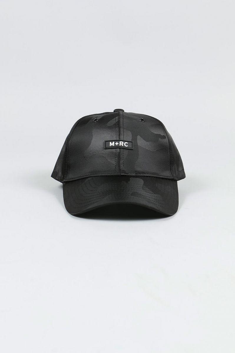 BLACK CAMO HAT(BLACK) M+RC NOIR(マルシェ・ノア)
