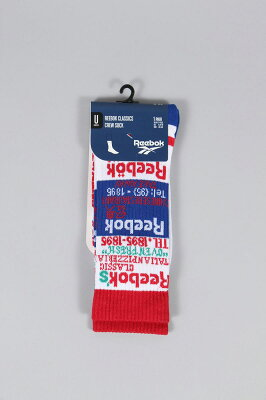 リーボック GRAPHIC CREWSOCKS