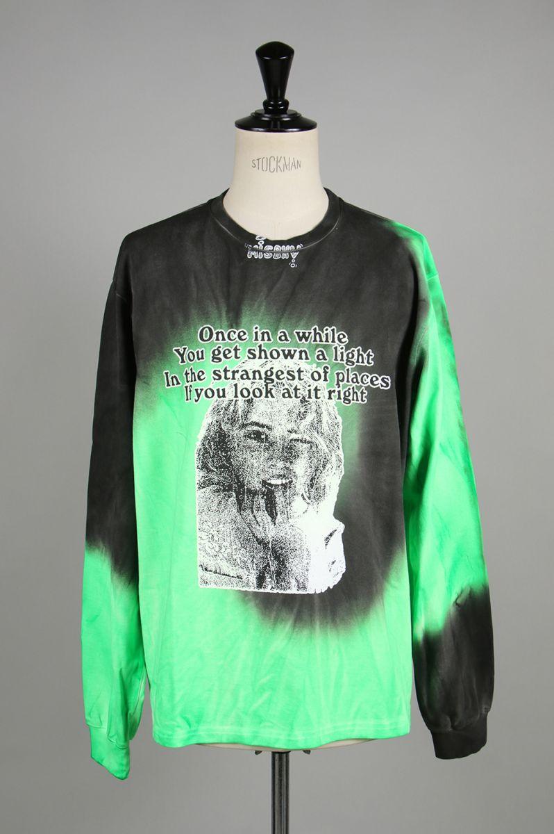 トップス, Tシャツ・カットソー ONCE Tie Dye LongsleeveGREEN(119M311) Misbhv()