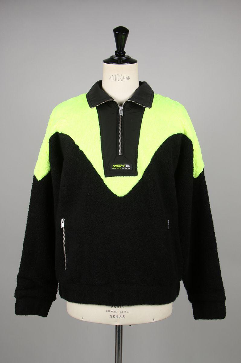 メンズファッション, コート・ジャケット EUROPA Fleece Half-Zip(119M072) Misbhv()