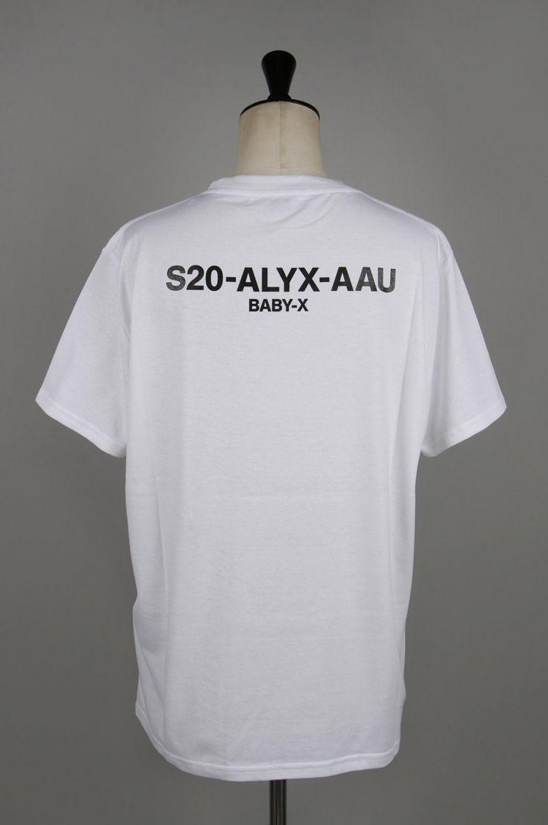 トップス, Tシャツ・カットソー 30OFFSS TEE VISUAL WHITE(AVUTS0017FA01WTH0001) 1017 ALYX 9SM()