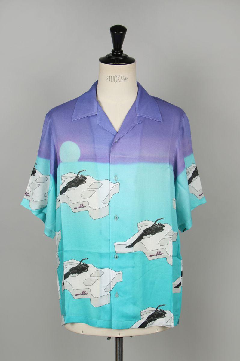 トップス, ワイシャツ 60OFFTHE IBIZA SHIRT TURQUOISE020M093 Misbhv()