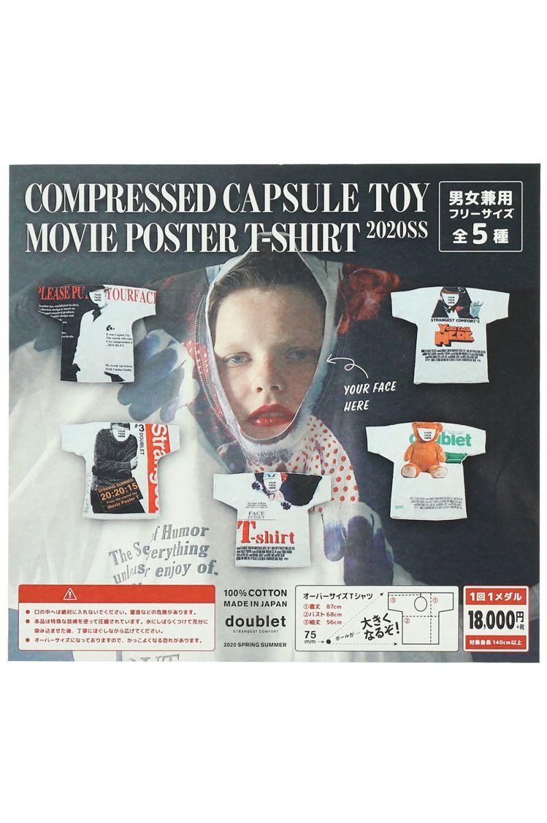 トップス, Tシャツ・カットソー 30OFFCAPSULE TOY COMPRESSED T-SHIRT (1 SET CONTAINS 5 T-SHIRT) doublet()