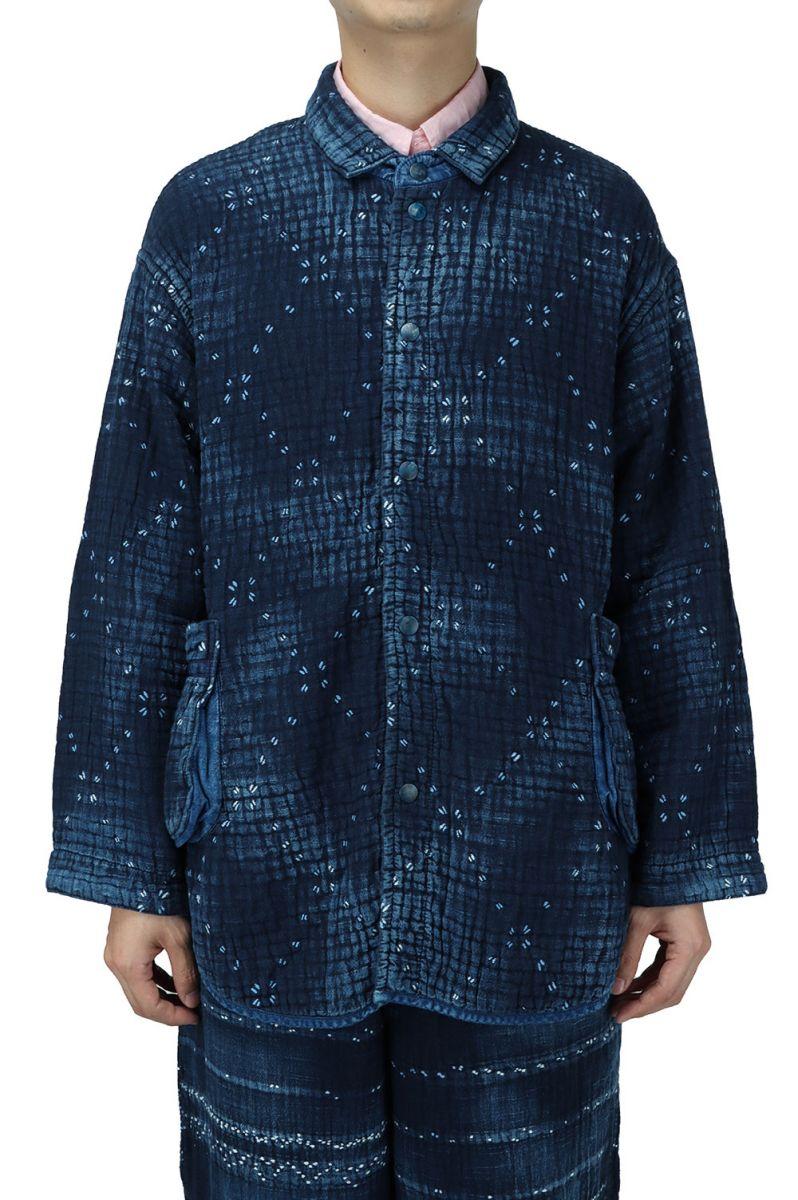 メンズファッション, コート・ジャケット KOGIN ART SHIRT JACKET BLUE (PC-051-1702) Porter Classic()