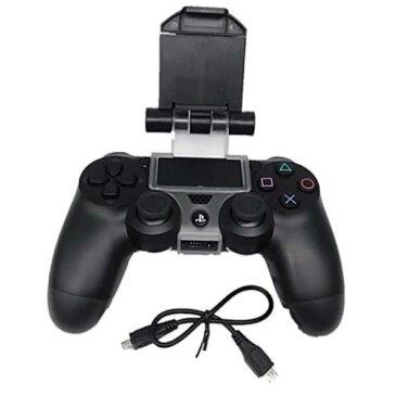 PS4 コントローラー 用 スマホ マウント ホルダー クリップ ゲーム スタンド 荒野行動 Android Playstation 送料無料