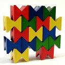 """スイスの木製玩具メーカーnaef社(ネフ)の代表的な積み木""""ネフスピール""""のミニチュア版です..."""