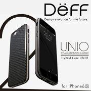 【Deff直営ストア】iPhone6,iPhone6s用HYBRIDケース「UNIO」ケブラーとアルミを使った保護力の高いケースHybridCaseUNIOケブラーforiPhone6s