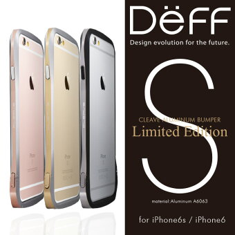 "【Deff直営ストア】iPhone6s/6用アルミバンパー,AluminumBumper""CLEAVE""foriPhone6sLimitedEdition"
