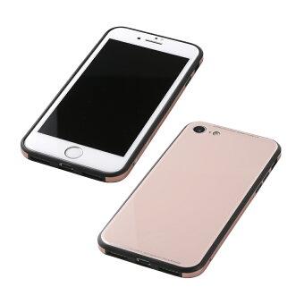 iPhone8/7HybridCaseUNIOワイヤレス充電対応ユニオガラスケース