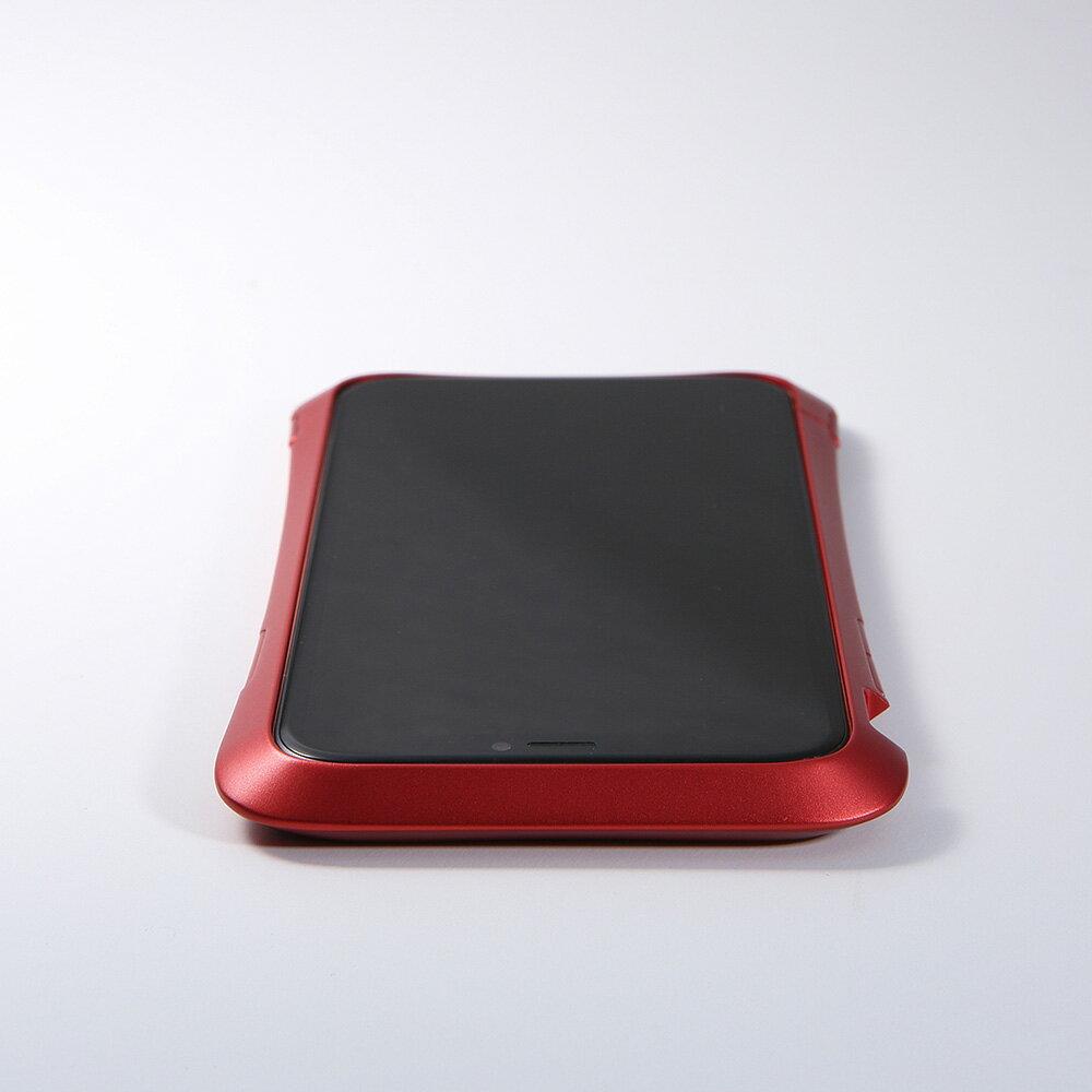 iPhoneXRアルミバンパーケースストラップホール付きメタルアルマイト加工CNC耐衝撃【送料無料】新製品
