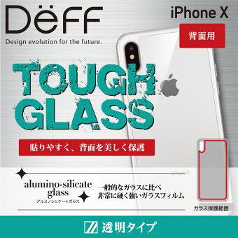 iPhonex強化ガラスフィルム背面