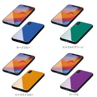 iPhoneXRHYBRIDケースEtanze(エタンゼ)ソリッドガラスタイプforiPhoneXRApple/docomo/au/Softbank【送料無料】新製品